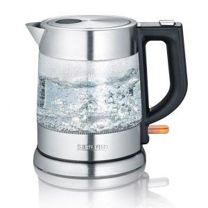 Severin Wk3468 Bouilloire sans fil 1l 2200w verre/inox