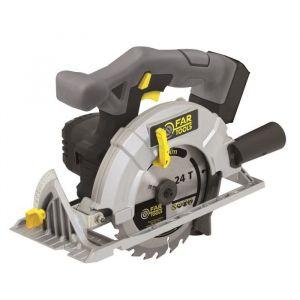 Far Tools X-FIT Scie circulaire sans fil 18 V - Ø165 mm / 20 dents - 3800 tr/min