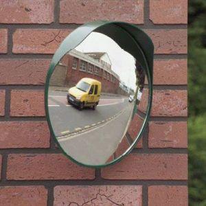 Mottez Miroir convexe sortie garage ou parking Ø 40 cm B314P40