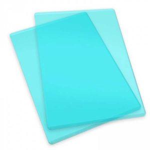 Sizzix Plaques de coupe standard vertes pour machine de découpe - 1 paire