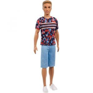 Mattel Ken Fashionistas - Short en Jean - Poupée Mannequin