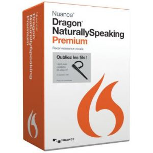 Dragon NaturallySpeaking Premium wireless v13 pour Windows