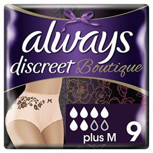 Always Culottes fuites urinaires taille M - Boutique