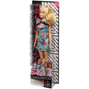 Mattel Barbie Fashionistas bleu clair robe à imprimé à fleurs