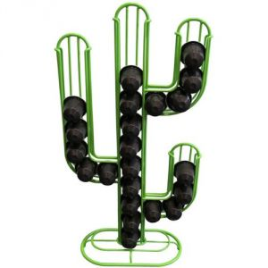 Les Designers Porte capsules pour 28 capsules Nespresso en forme de cactus