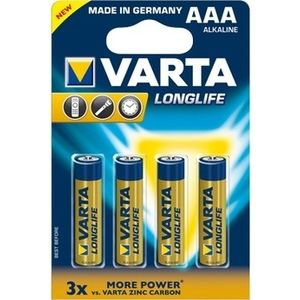 Varta Pile Longlife Extra LR3 X4 (4103)