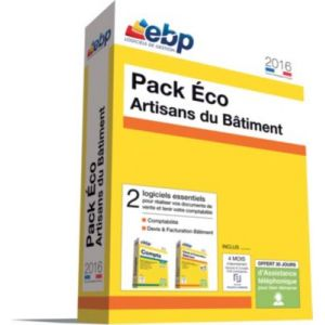 Pack Eco Artisans du Bâtiment 2016 [Windows]
