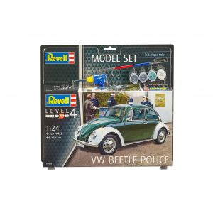 Revell 67035 - Maquette voiture model set VW Beetle Police