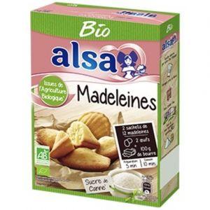 Alsa 360g préparation madeleine bio