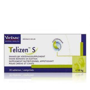 Virbac Telizen S 50 mg pour chien et chat 30 comprimés