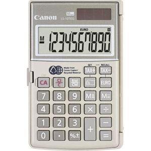 Canon LS-10TEG - Calculatrice de poche en matériaux recyclés