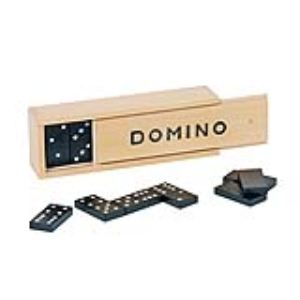 Domino boîte en bois 1