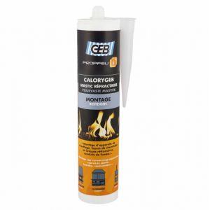 Geb Calorygeb - Mastic réfractaire cartouche 310 ml