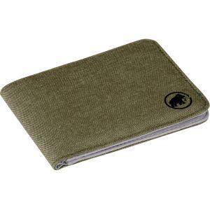 Mammut Flap Wallet Melange - Porte-monnaie vert olive/gris