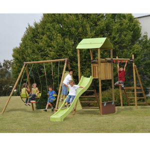 Soulet Melthem - Aire de jeux en bois 2,35 m