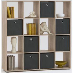 Swithome Méga - Bibliothèque 16 casiers