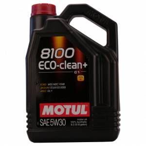 Motul Huile moteur 8100 Eco Clean+ 5W30 Essence et Diesel 5 L