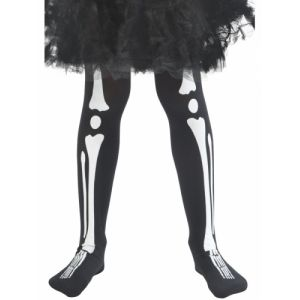 Smiffy's Collants squelette enfant Halloween