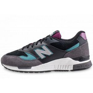 New Balance Ml840 chaussures Hommes gris violet noir Gr.43 EU