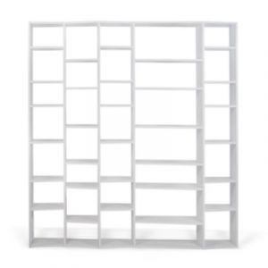 """TemaHome Étagère Bibliothèque """"Valsa"""" 35 casiers GM Blanc Mat"""