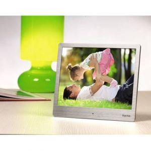 Hama Fonction cadre photo numérique, 25.4 cm, argent