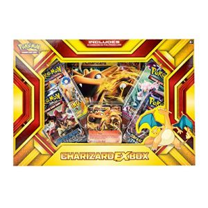 Asmodée Pokémon - Produits Spéciaux - Charizard Ex Box (dracaufeu Ex) Anglais