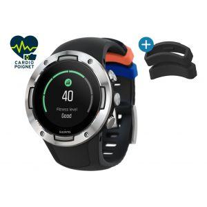 Suunto 5 Montre GPS multisport, black steel Montres & Ceintures cardio
