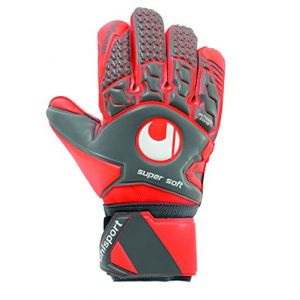 Uhlsport Gants de gardien de foot Aerored Supersoft