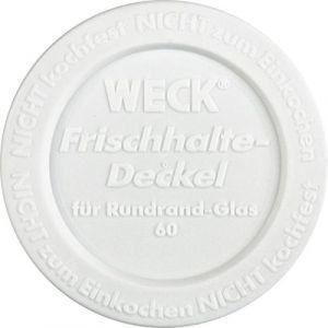 Weck 5 Couvercles de conservation pour bocal diamètre 60 mm - 5
