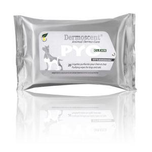 Dermoscent Pyo Clean - Lingettes purifiantes pour chien