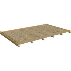 Habrita Plancher pour abri BA 4050.02 N