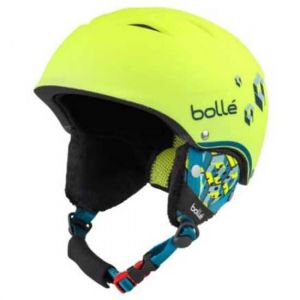 Bollé Casques B Free - Soft Neon Yellow Blocks - Taille 49-53 cm