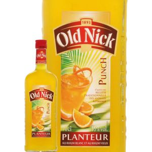 Old Nick Punch au rhum vieux ambré, au rhum blanc et à l'orange