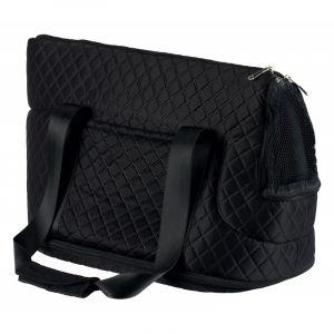 Trixie Sac Ruby avec 2 poches latérales - Noir - Pour chat - Couverture en polyester - Couverture intérieure : fibre polaire - Dimensions : 29x28x45cm - Noir - Pour chat.