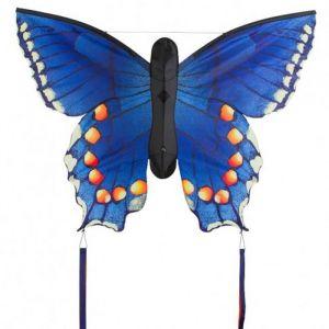 Hq Butterfly Single Line Kite - Swallowtail Blue - L