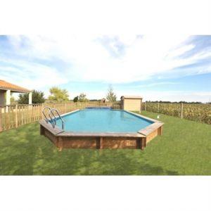 Sunbay 786239 - Piscine Avila en bois 942 x 592 x 146 cm