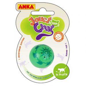 Anka Balle en plastique sonore pour chat