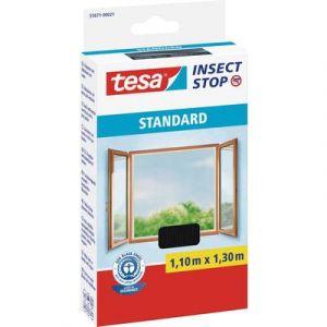 Tesa Moustiquaire Standard pour fenêtres 1,10m x 1,3 m Anthracite