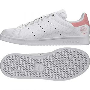 Adidas Femme Stan Smith Cloud White Glory Pink Tennis