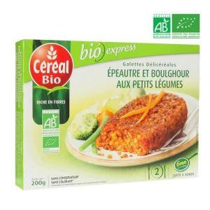 Céréal bio Galettes aux céréales, epeautre et boulghour aux petits légumes, certifié AB