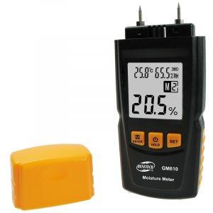 WeWoo Détecteur d humidité noir Humidimètre numérique bois
