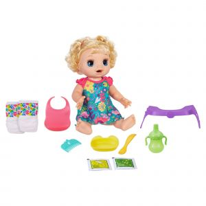 Hasbro BABY ALIVE ADORE MANGER BLONDE