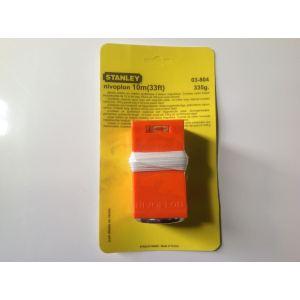 Stanley 0-03-804 - Plomb de maçon nivoplon + cordeau