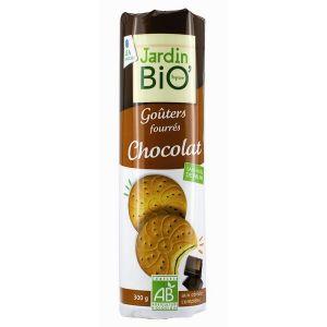 Jardin Bio Goûters fourrés chocolat (300g)