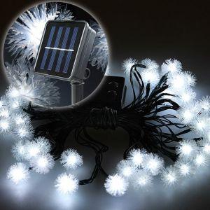 Jago Guirlande solaire aigrettes de pissenlit 30 LED