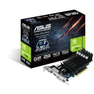 Asus GT730-SL-2GD3-BRK - Carte graphique GeForce GT 730 2 Go GDDR5 PCI Express 2.0 8x