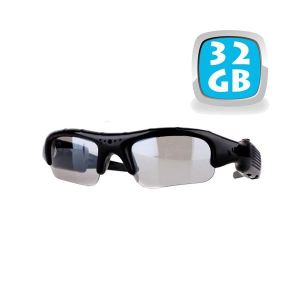 Yonis Y-lcsd32go - Lunettes camera espion mini appareil photo USB Micro SD 32Go