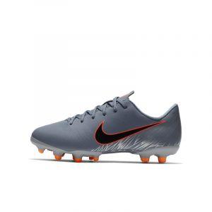 Nike Chaussure de football multi-terrainsà crampons Jr. Mercurial Vapor XII Academy Jeune enfant/Enfant plus âgé - Bleu - Taille 35.5 - Unisex