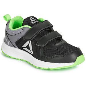 Image de Reebok Chaussures running Almotio 4.0 2 Velcro - Black / Cold Grey 5 / Solar Green - Taille EU 30 1/2