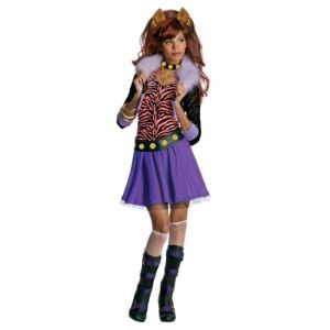 Rubie's Déguisement de Clawdeen Wolf Monster High (8-10 ans)